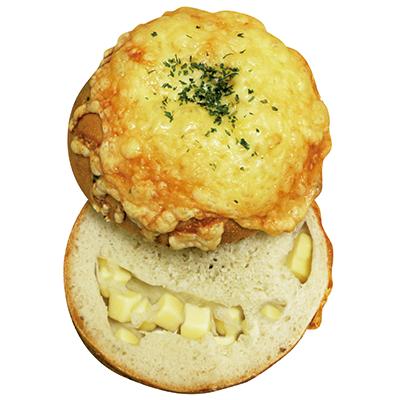 Wチーズベーグル